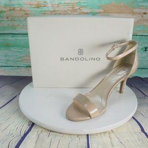 Bandolino Bomadia Beige Patent Leather Heels